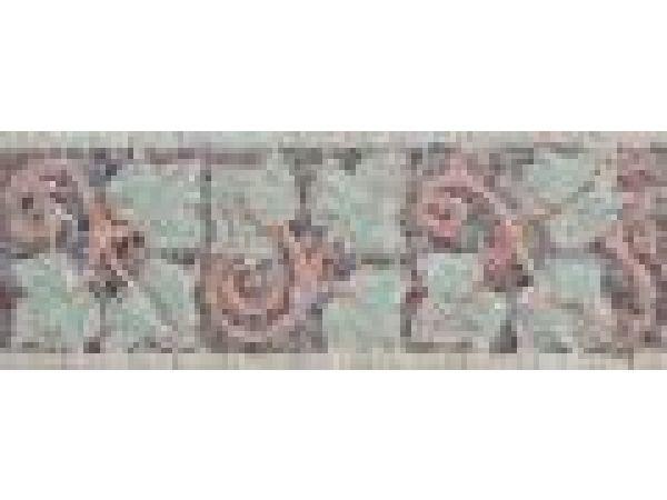Stone Mosaics-7x19 Ivies I