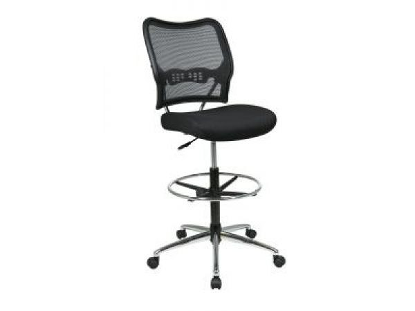 SPACE Air Grid Back & Mesh Seat Drafting Chair