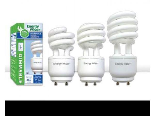 Dimmable GU24 CFLs