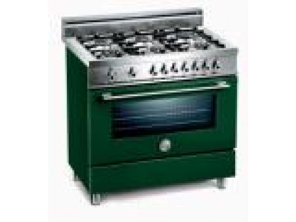 Six-Burner Free-Standing 36 in Gas Range
