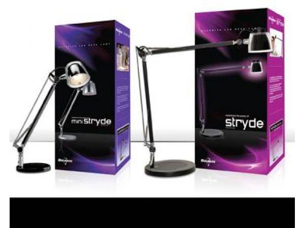Stryde and miniStryde LED Desk Lamps
