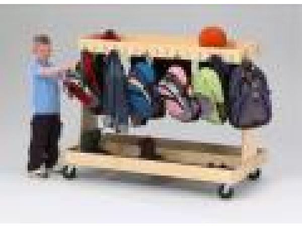 Mobile Backpack Cart - 5290