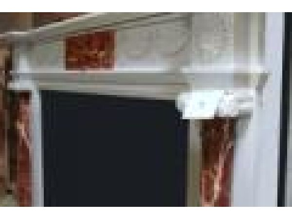 Marble Fireplace Mantels - MF96571