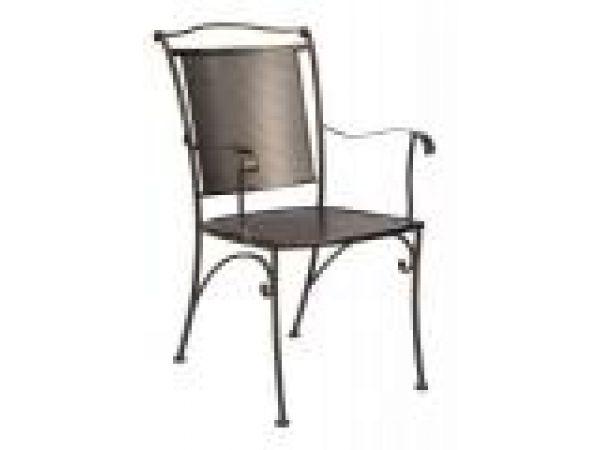 Terrace Rose - Mesh Arm Chair