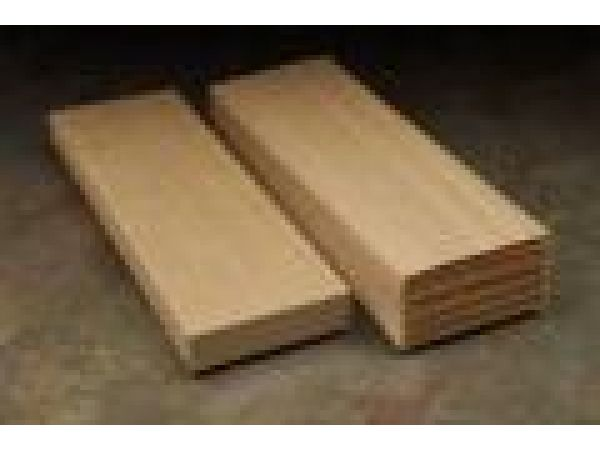 Resource-efficient mouldings and millwork