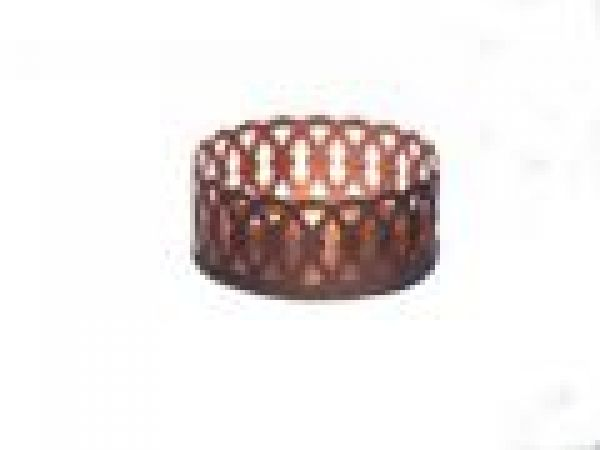 Teardrop Illuminating Copper Coaster