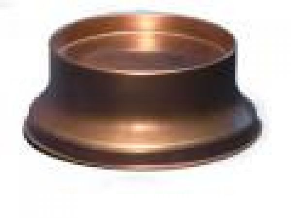 4  Copper Candle Pedestal Stand