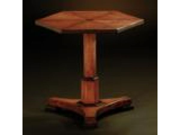 Clayton Hexagonal Side Table