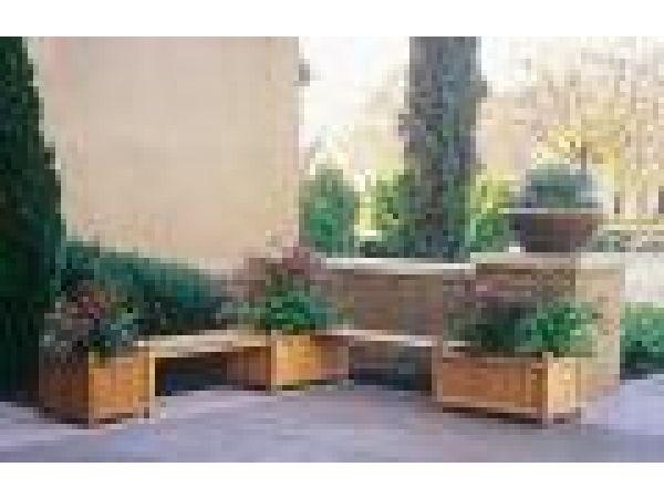 Modular Planter Bench - #2324