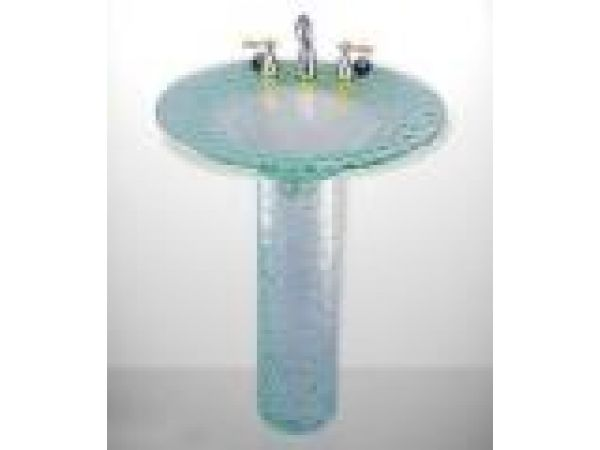Elliptic Pedestal Sink