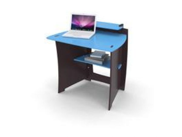 34-inch Desk with Monitor Shelf