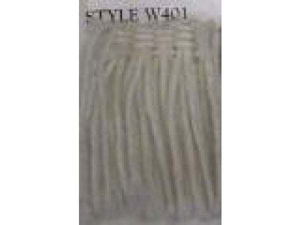 Style W401 Wool Brush Fringe