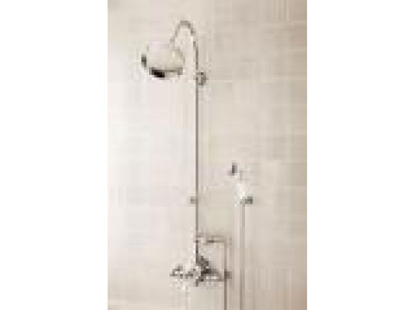 Bathing - Exposed Thermostatic Shower with Handspray
