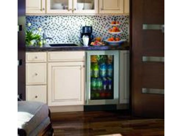 3018RGL, 18 Modular 3000 Series Glass Door Refrigerator