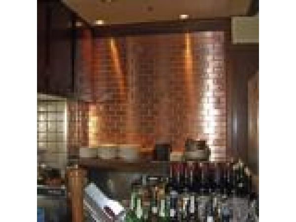 Subway Tiles - Stainless Steel, Copper & Titanium