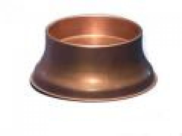 3  Copper Candle Pedestal Stand