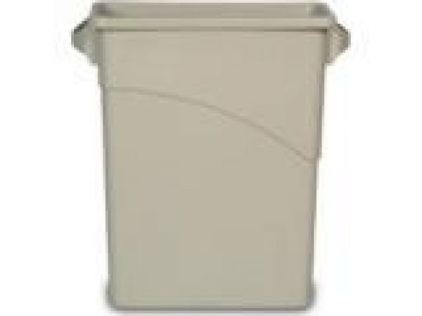 3541 Slim Jim' Waste Container with Handles