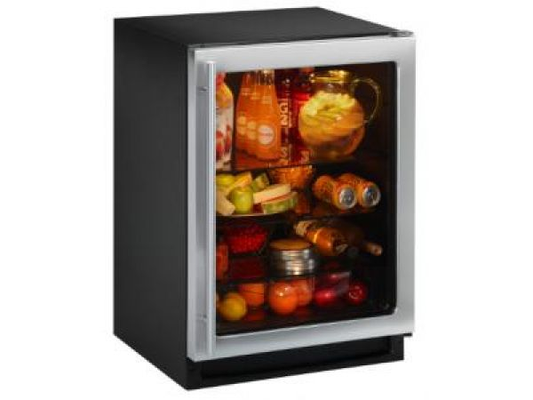 Energy Efficient Glass Door Refrigerator