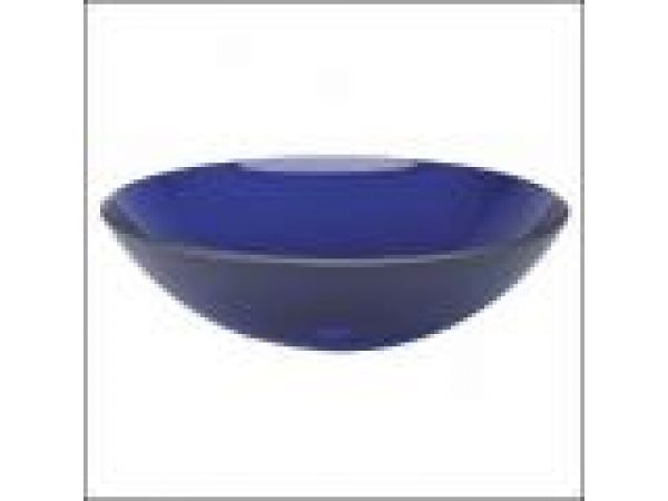 BluToo Cobalt Blue Glass Washbasin
