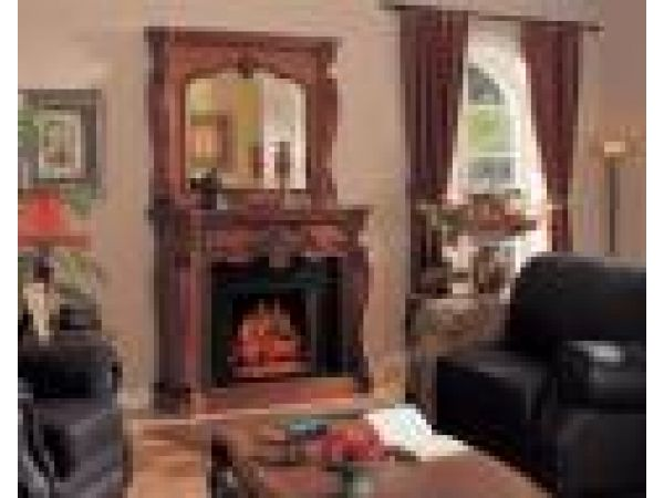 Biltmore Electric Fireplace