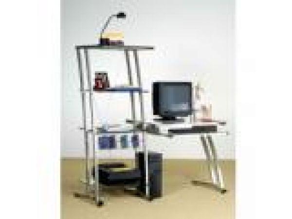 Jinx Computer Desk & Bookcase Combo