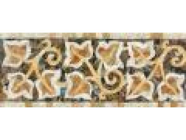 Stone Mosaics-5.75x14.75 Ivies 032
