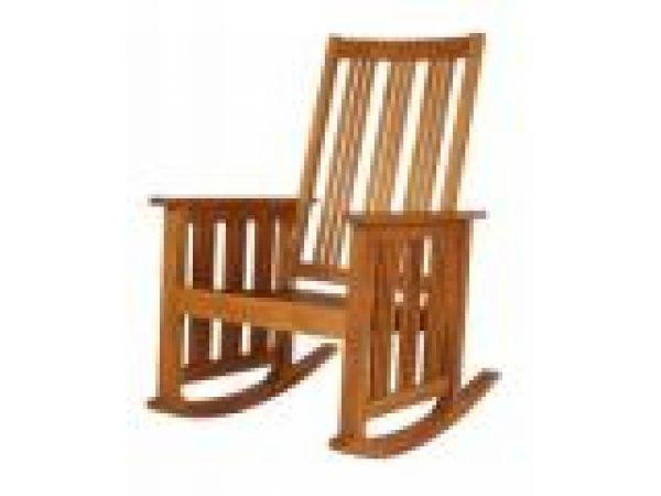 Mission Rocking Chair - Interior