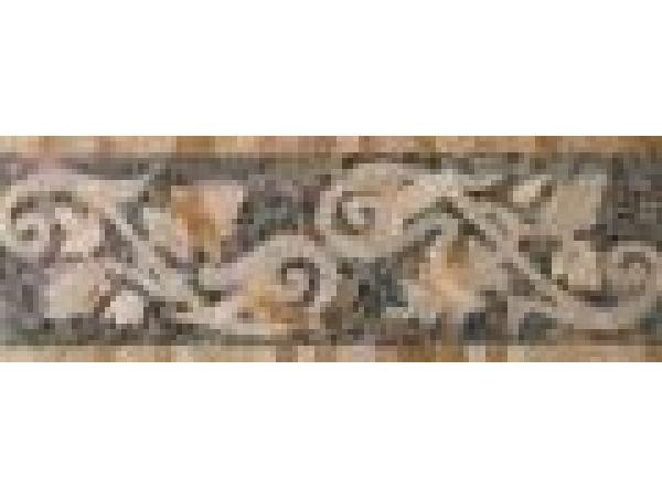 Stone Mosaics-6x17 Fleuret Q
