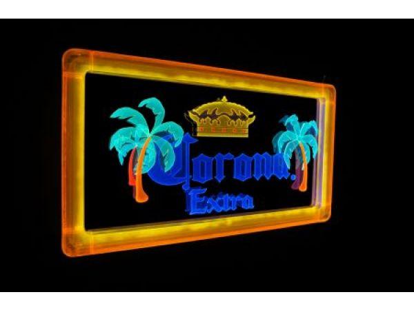 Corona Beery Brand Sign