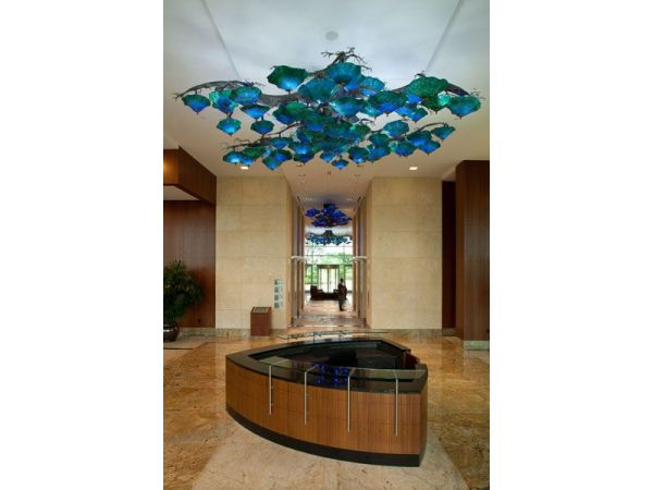Texas Oak Chandelier | Granite Park III