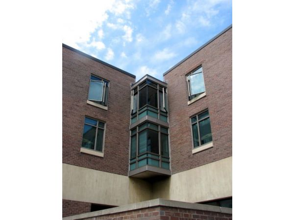 SUNY at Fredonia, student residential halls, window replacement