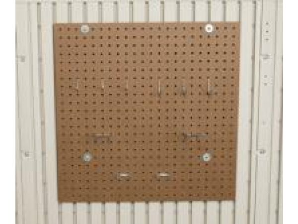 Peg Board for 8-Foot Wide Sheds