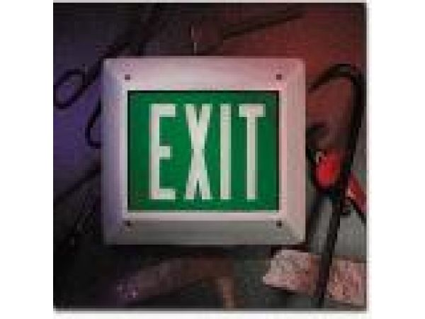 Self Luminous Exit Sign