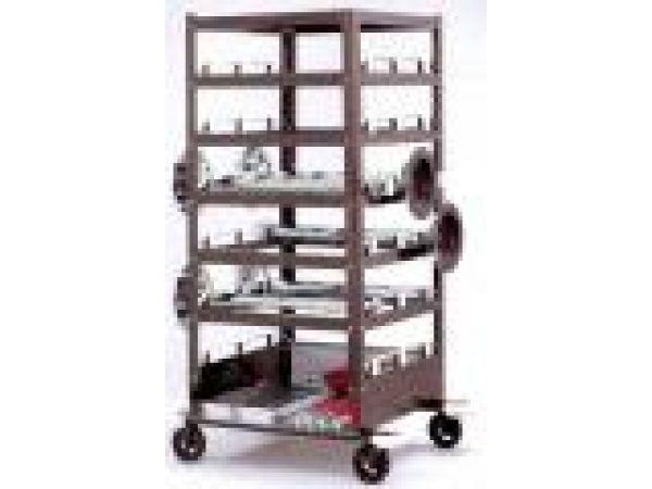 Deluxe Post Storage Cart