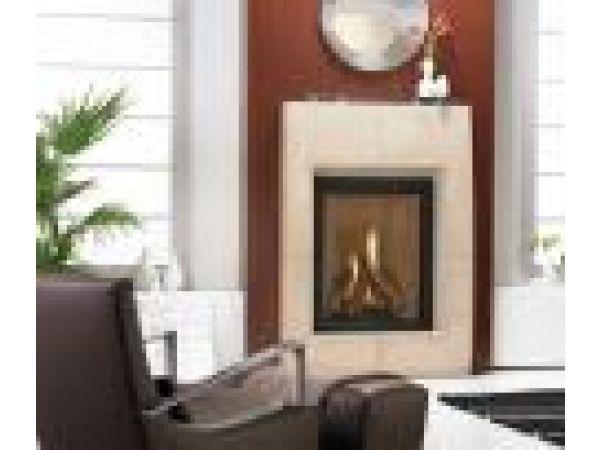 Everest¢â€ž¢ Gas Fireplace with Atlas¢â€ž¢ Surround
