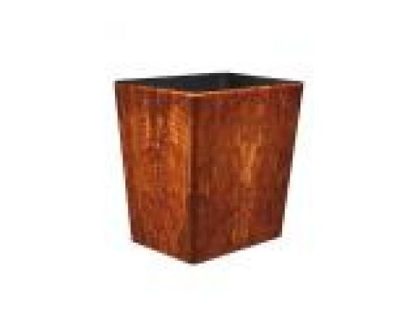 Connoisseur Wastebasket-Light Brown w/insert OX