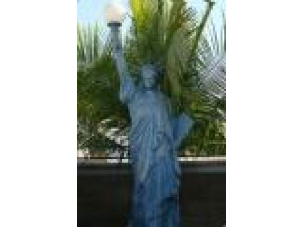 Cast Iron, Bronze & Aluminum Statues - S0010