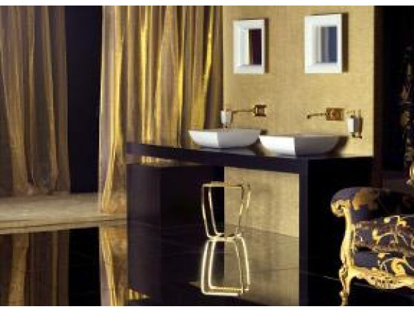 Mimi Wall Mounted Faucets and Vessel Lavatories
