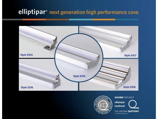 S31x LED Cove Light Family by elliptipar