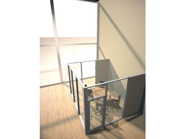 Tubelite INT45 Interior Flush Glaze Framing