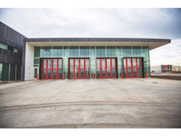 Salt Lake City\'s Net-zero-energy Fire Station No. 14 Earns LEED Gold with Triple-glazed, Curtainwall