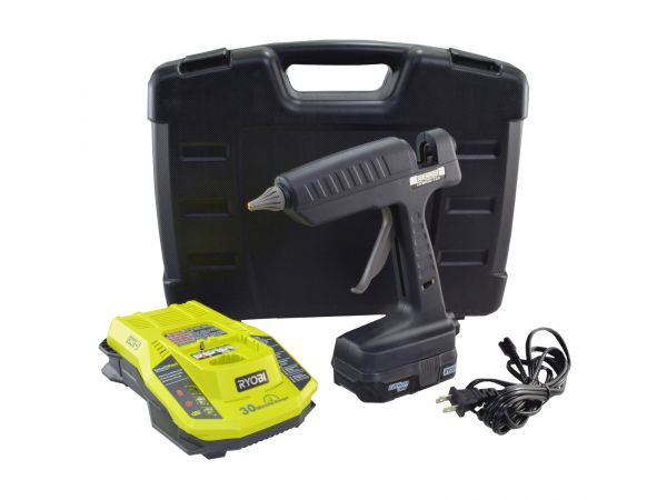 Hybrid-120Kit Cordless and AC Cord Glue Gun Kit