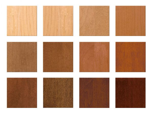 Transparent Stain Colors by Huntwood