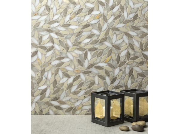 Foliage Grande Polished Mosaic