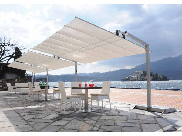 Flexy free-standing awning