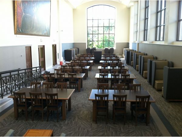 Villanova University Dining Seating