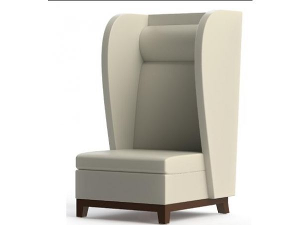 University Library Custom Wing Chair