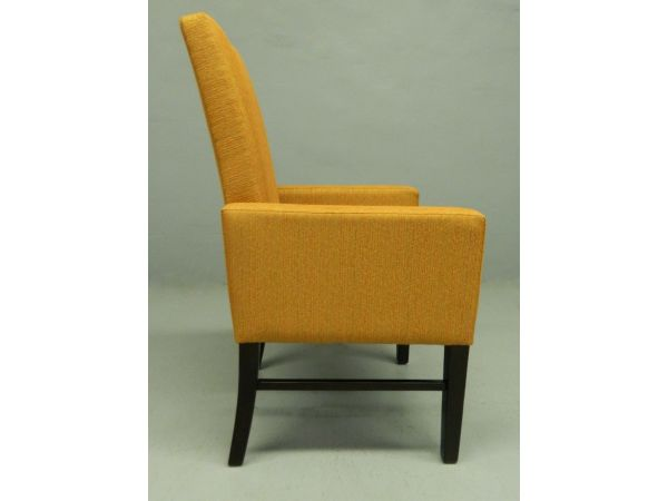 plush dining restaurant chair