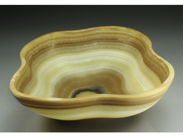 Hand Carved Onyx Bowl