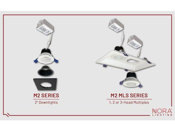 M2 Modular LED Downlighting